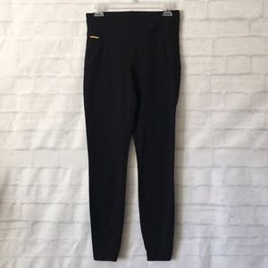 Lole black leggings workout yoga tights sz M